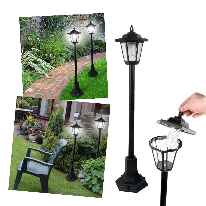 lampy solarne do ogrodu stojące