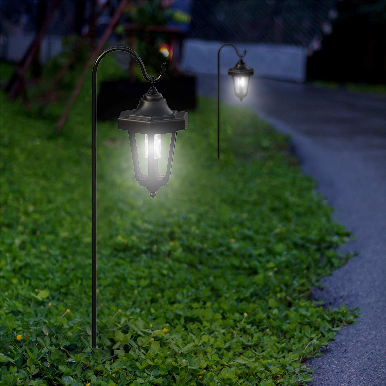 W Mega Lampa solarna latarnia-70cm-Czujnik zmierzchu-lampy solarne-AMBROTECH YA28