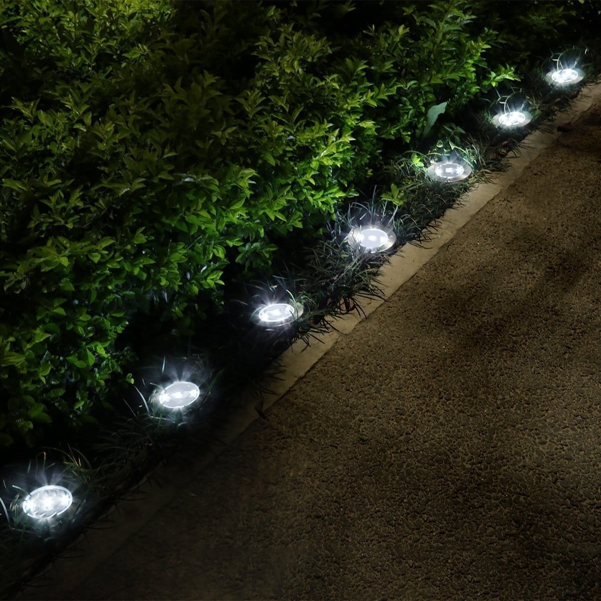 Lampa Solarna Najazdowa Led Lampy Do Kostki Brukowej Stal Nierdzewna