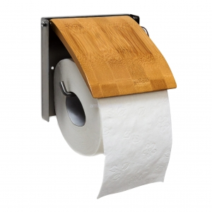 Uchwyt na papier do WC, bambus
